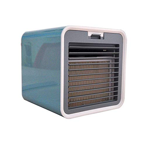 3 in 1 adiabatische koelers, luchtbevochtiger, Personal Air Cooler, Portable Mini Air Conditioner voor kantoor, thuis, Dorm, Travel,Blue