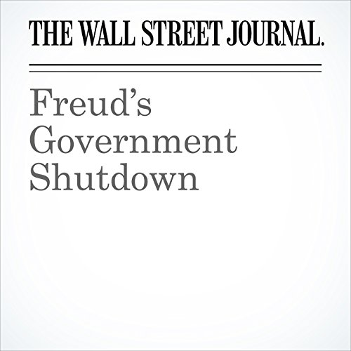 Freud's Government Shutdown copertina