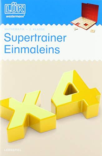 LÜK-Übungshefte: LÜK: 2. Klasse - Mathematik: Supertrainer Einmaleins