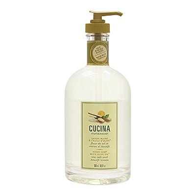 Cucina Sea Salt and Amalfi Lemon 16.9 oz Hand Soap