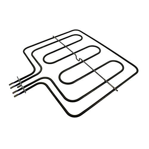 Hoover 49021946 - Elemento de parrilla para Candy/Bush/Techwood/Proline/Logik/Valberg Dual Circuit