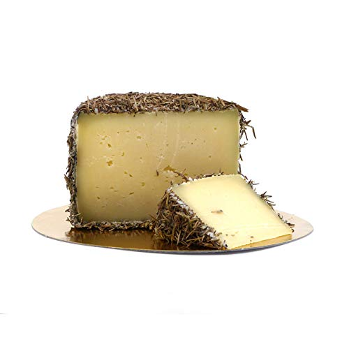 1kg Mini-Laib gereifter Schafskäse im Rosmarin Mantel | wie Manchego | 8-10 Monate Reifezeit