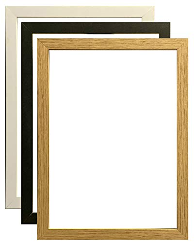 Ulisia Enterprise A6 (148x105) mm Thin Photo Frame, Black Wood Effect Poster/Picture Frame