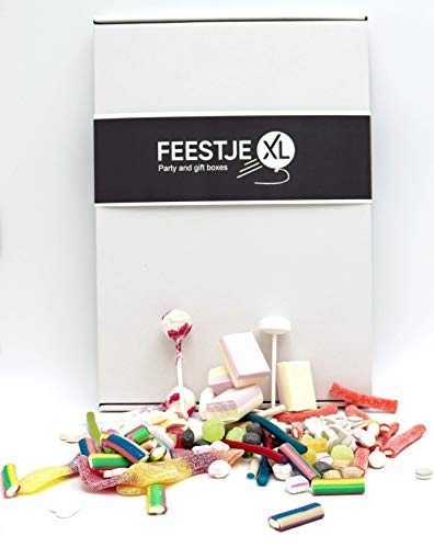 Snoep & Snoepgoed doos – The Candy Box – Allie's Directors Cut – 500 gr Snoepjes probeer en verjaardag cadeau doos voor…