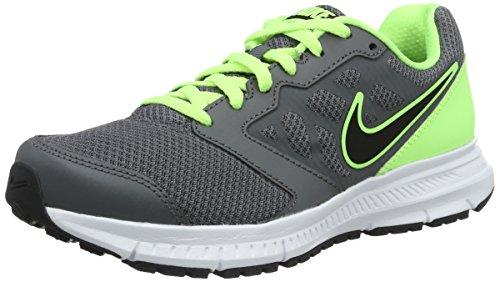 Nike Downshifter 6, Scarpe Running Uomo, Grigio (Gris Dark Grey/Black-Ghst Grn-White), 38.5 EU