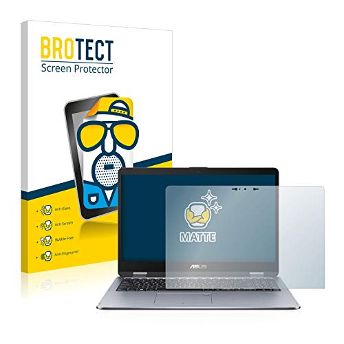 BROTECT Entspiegelungs-Schutzfolie kompatibel mit Asus VivoBook Flip 15 TP510UQ Bildschirmschutz-Folie Matt, Anti-Reflex, Anti-Fingerprint
