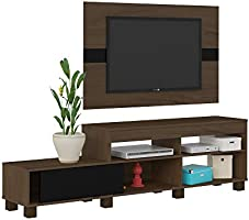 Artely Ever Panel TV Table for 42 Inch TV, Black & Brown 003652, Size: 51.5 cm*180 cm*35.3 cm 7899307512209