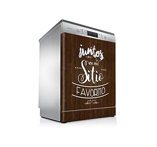 setecientosgramos Vinilo Lavavajillas | Stickers Dishwasher | Pegatina Lavavajillas | Juntos