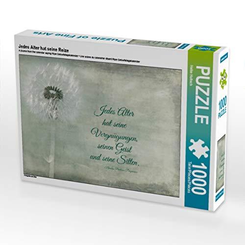 CALVENDO Puzzle Jedes Alter hat Seine Reize 1000 Teile Lege-Größe 64 x 48 cm Foto-Puzzle Bild von Heike Hultsch