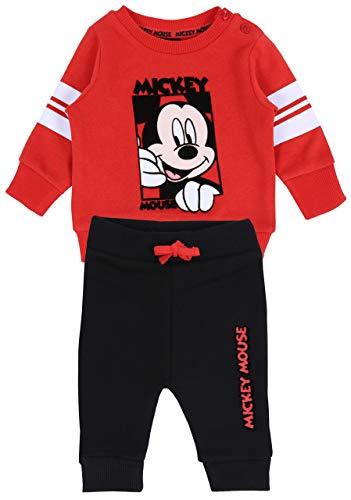 Ensemble : Pantalon + Sweat-Shirt Mickey Mouse Disney 3-6 m 68 cm
