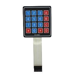 [DIAGRAM_5LK]  Make a Custom Membrane Keypad for Arduino | Membrane 1x4 Keypad Wiring Diagram |  | Paul Bleisch