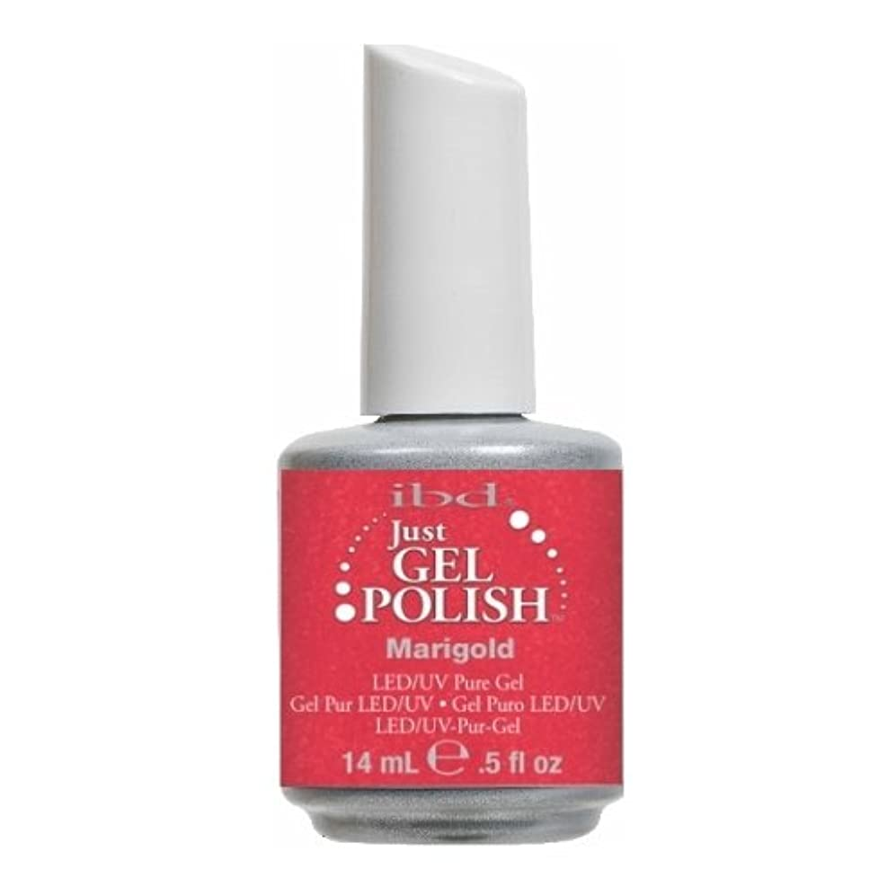 通知牽引磁器ibd Just Gel Polish - Marigold (並行輸入品)