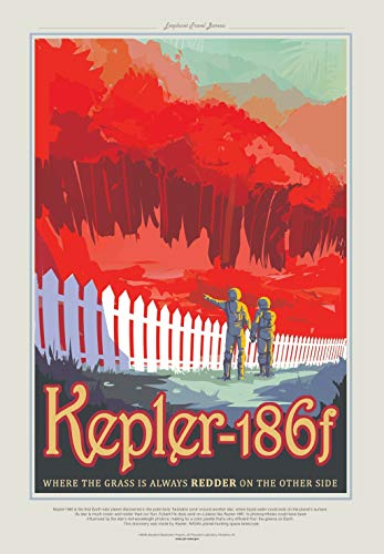 NASA - Visions Of the Future - Visit Kepler-186f Earth-Size Planet Poster 9 61x91.5cm