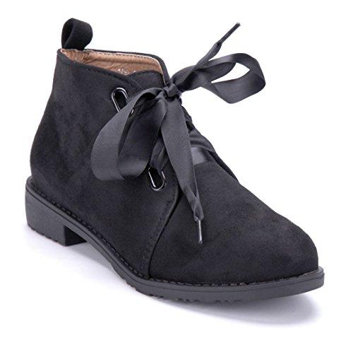 Schuhtempel24 Klassische Stiefeletten Black