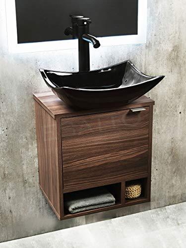 Esatto® Mueble Premium Baño Dcnb Stylo N Lavabo Llave Negros DREN
