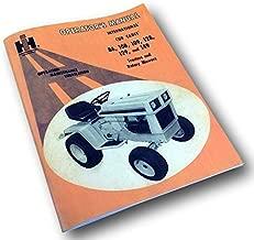 International Cub Cadet Tractor Model 128 129 Owner Operators Manual Lawn Mower