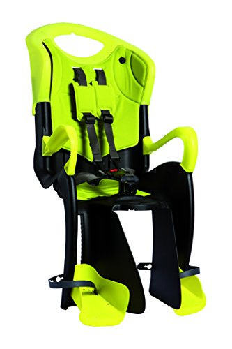 Bellelli Tiger Baby CarrierChild Bike Seat - Clamp, Yellow - 50lbs.