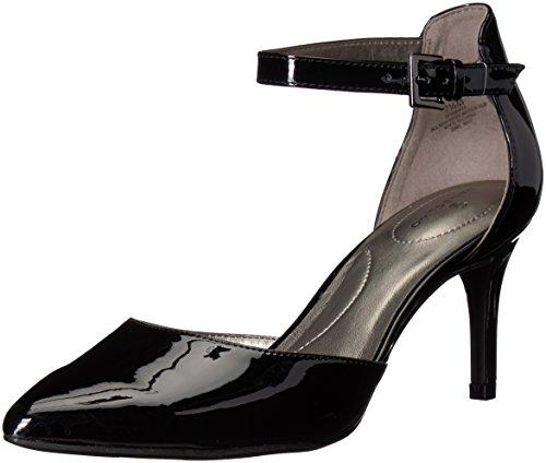 Bandolino Ginata Black Sleek Patent Pu 9.5