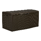 Suncast 52-in L x 29-in 124-Gallon Java Deck Box at Lowes.com
