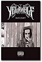 Xiangll Pknbfw Yelawolf Daylight Rapper Music Hot Gift Art Poster Canvas Painting Home Decor Wall Art Canvas Prints Room Homedecor-50X70Cmフレームなし