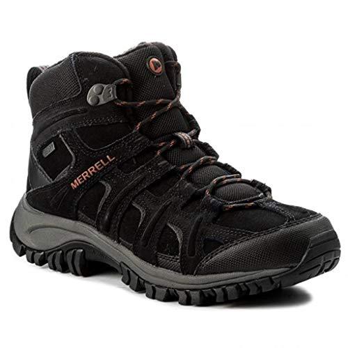 Merrell Phoenix 2 Mid Thermo J09599 Leder Herren Schuhe Stiefel Wanderschuhe BLACK (43)