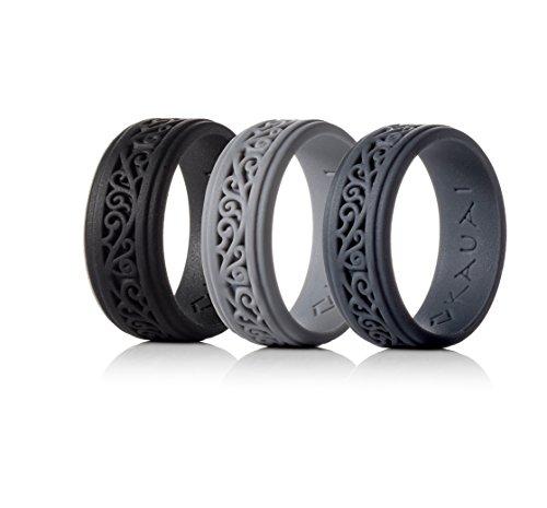 KAUAI - Silicone Wedding Rings for Men & Women Timeless Elegance Ring...