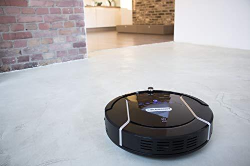 Blaupunkt Bluebot XSMART Saugrobotor mit Wischfunktion und App-Steuerung, 35W, 180 m2 Reichweite, 0,5L Staubbehälter mit HEPA-Filter (Amazon Alexa kompatibel) - 12