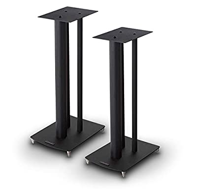 Mission Stancette Speaker Stand - Black (Pair) from Mission