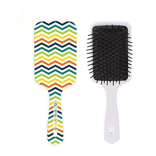 理髪コーム 1PCカラーパターンくしプロのマッサージブラシヘアブラシくし頭皮ヘアケア健康くし (Color : A3)