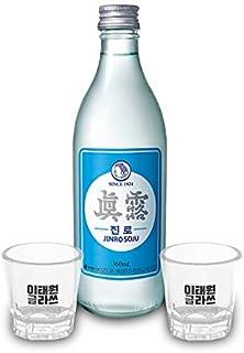 「梨泰院グラス2個付」限定販売ジンロイズバック焼酎360ml1本+グラス2個付梨泰院グラス