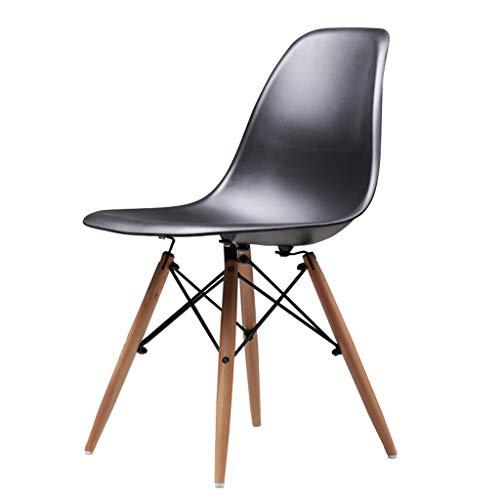 Chaise de Petit Déjeuner Hautes Chaise en bois Creative Office Tabourets Cuisine Table à manger Salle de réunion Dossier Business Chaise de bar Tabourets Max Charge 150 kg, 45x45x82cm