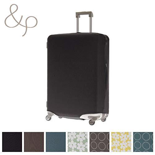 &P スーツケース/キャリーケースカバー NV1874(サイズはありません ア:ブラック(ムジ))