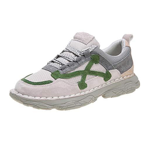 ASMCY Mujeres Zapatos Deportivos Ligero Respirable Al Aire Libre Casual Moda Zapatos para Correr Gimnasio Caminando Trotar Aptitud Atlética Zapatillas,A,EU39