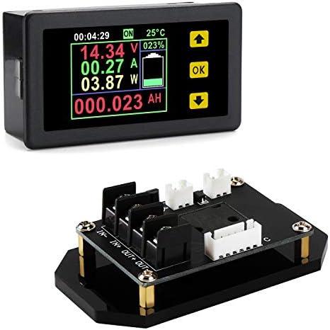 DC Multifunction Meter DROK Voltmeter Ammeter Multimeter 0 120V 30A LCD Display Bidirectional product image