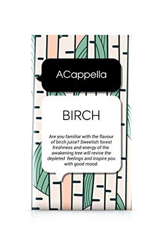 ACappella bolsita perfumada Birch - Perfume y frangancia en seco para Habitaciones, armarios, estanterías, clósets y Coches - 11g