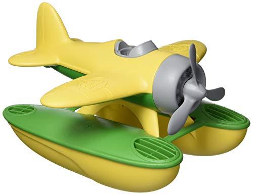Green Toys Seaplane, Yellow/Green CB - Pretend Play, Motor Skills, Kids Bath Toy...
