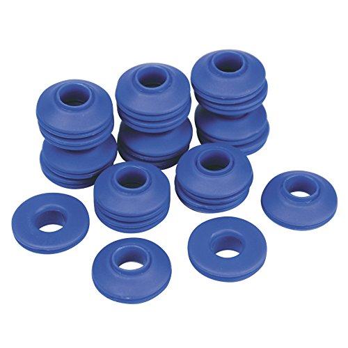 Cogex 11439 Œillet de bâche auto perforant en plastique 20 pièces