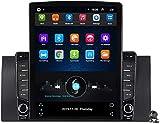 Android 9.1 Entretenimiento en el Automóvil Radio Multimedia para BMW X5 E39 E53 1999-2006 con 9,7 Pulgadas de Pantalla Vertical, Llamar al Soporte DSP FM/Am Navegación GPS/Bluetooth Manos Libres