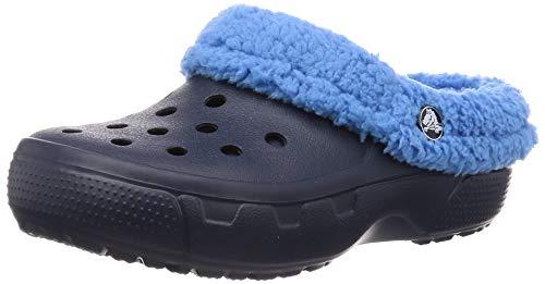 Crocs Mammoth EVO Clog Kids Mädchen Clogs & Pantoletten, Blau (Navy/Varsity Blue), 27/29