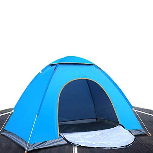 Asolym 2 Personnes Pop Up Tent Lightweight 2 Man Pop Up Tent Beach Camping Tent Pliable Outdoor UV Lightweight Waterproof Tente Resistant Water for Children Children and Dog on Garden Beach