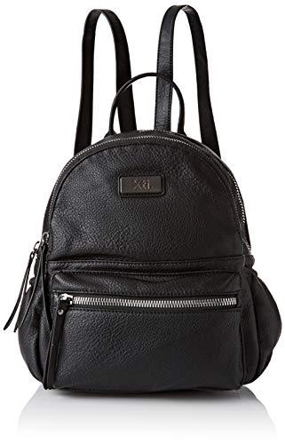 XTI 86173, Bolso mochila para Mujer, Negro (Negro), 23x32x13 cm (W x H x L)