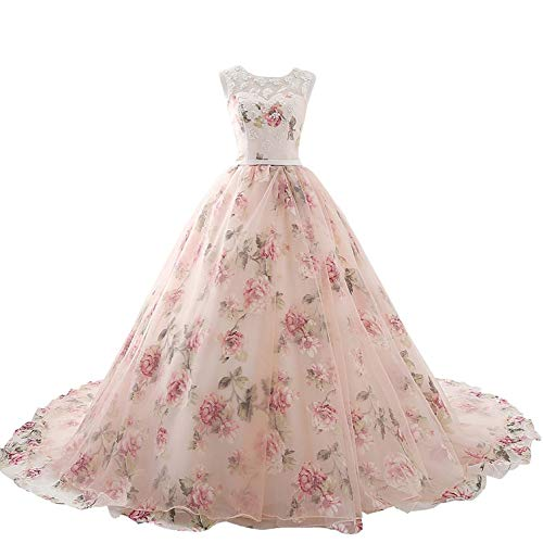 Aurora Bridal Women's Long Prom Party Gown 18W Pink