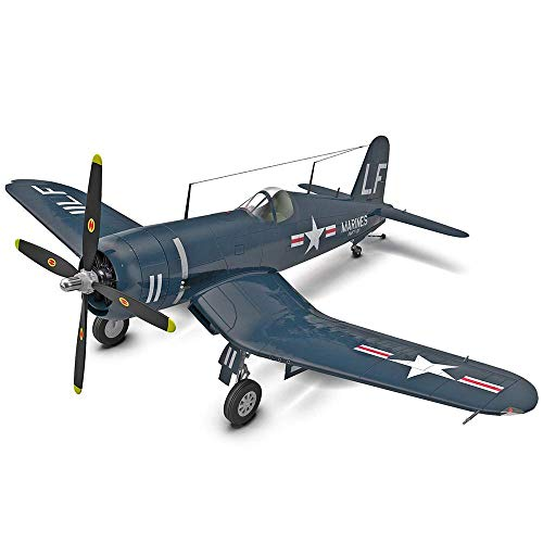 Heinside Gift Military Plastic Model Kits, 1/48 USA Vought F4U Corsair Fighter Puzzle Modell, Adult Toys and Collectibles, 26,6 cm Times; 21,6 cm Astonishing