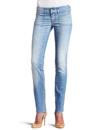 Diesel 7/8 - Jeans Hushy 8XN stretch da donna, colore: Blu Blu 29W x 34L