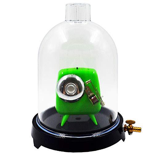 WIEUR La placa de succión con el equipo de enseñanza de la física de los fuelles 180Mm de la campana de la campana del vacío