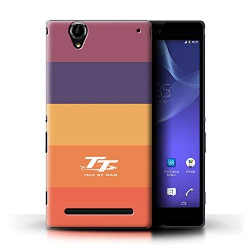 Isle of Man TT Offiziell Hülle/Hülle für Sony Xperia T2 Ultra/Lutscher Muster/Eleganz Kollektion
