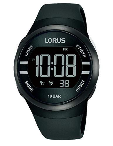 Lorus Reloj Digital de Cuarzo con Correa de Silicona.