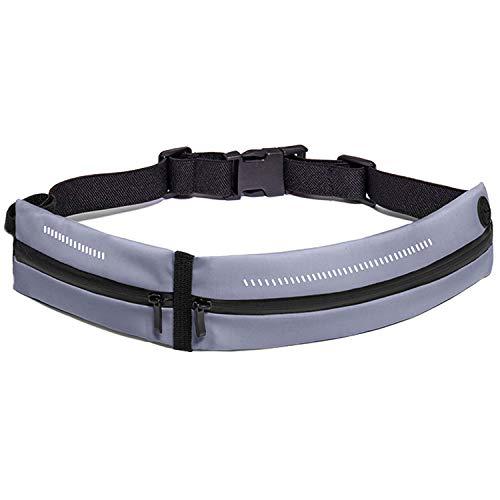 Cinturón de running para cinturón deportivo ajustable, impermeable, para hombre, mujer, soporte de teléfono, adecuado para gimnasio, correr, escalada, fitness, senderismo