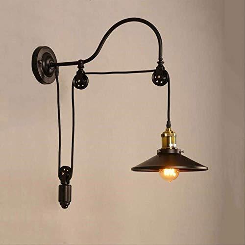 XZDZDJ Lampara de pared Retro Loft industria de la lámpara de pared...