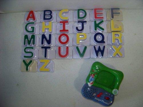 Leap Frog Lot Fridge Phonics Magnetic Alphabet Letters Complete Set 26 Uppercase